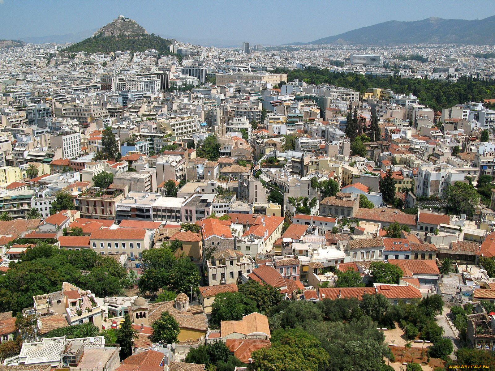 фотографии города афины бывает чувство